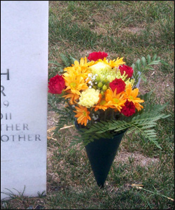 Labor Day grave tributes